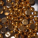 Slika izdelka Kamenčki round gold M 100 kom