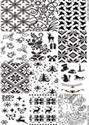 Slika izdelka Odtisna plošča božični vzorci