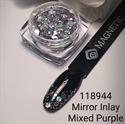 Slika izdelka Inlay miror mixed purple